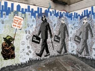 Los Bancos y Occupy