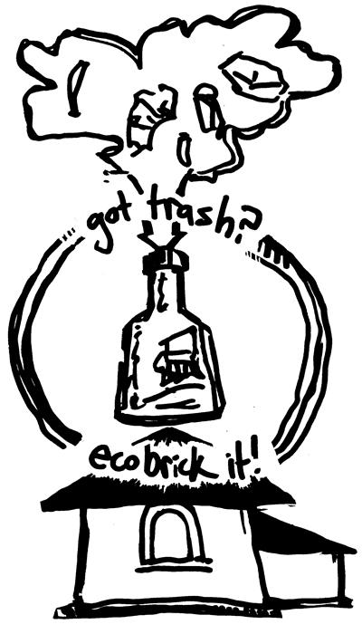 EcoBrickIt Outlinebw s